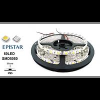 Светодиодная лента 120led/m IP65 6Lm/led 9,6Вт 12В LEDSTAR