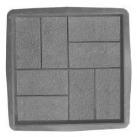 """Форма для тротуарной плитки """"Паркет"""" 40x40 см."""