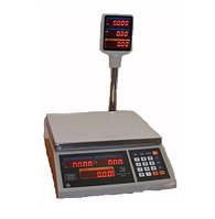 Весы торговые ВТЕ-Центровес-Т2-ДВ-(СВ) 6 - 15 - 30 кг