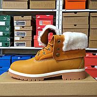 Зимние ботинки Timberland женские Yellow Boots