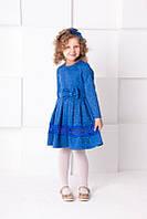 Платье ЖАККАРД с ободком для девочки ТМ ГАББИ