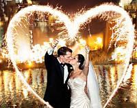 Бенгальские огни на свадьбу, 70 см, 5 шт/уп
