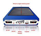 Солнечное зарядное 50000 mAh металлический корпус, фото 3