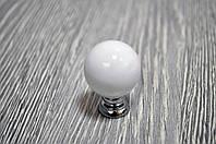 Ручка шар белый