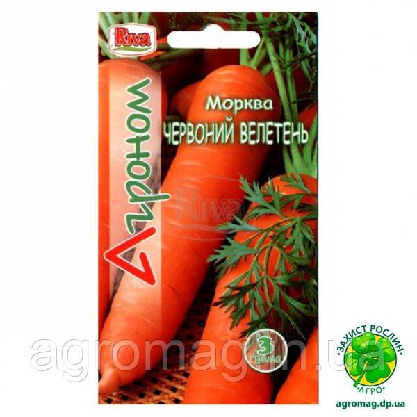 Морковь Красный Великан 20г