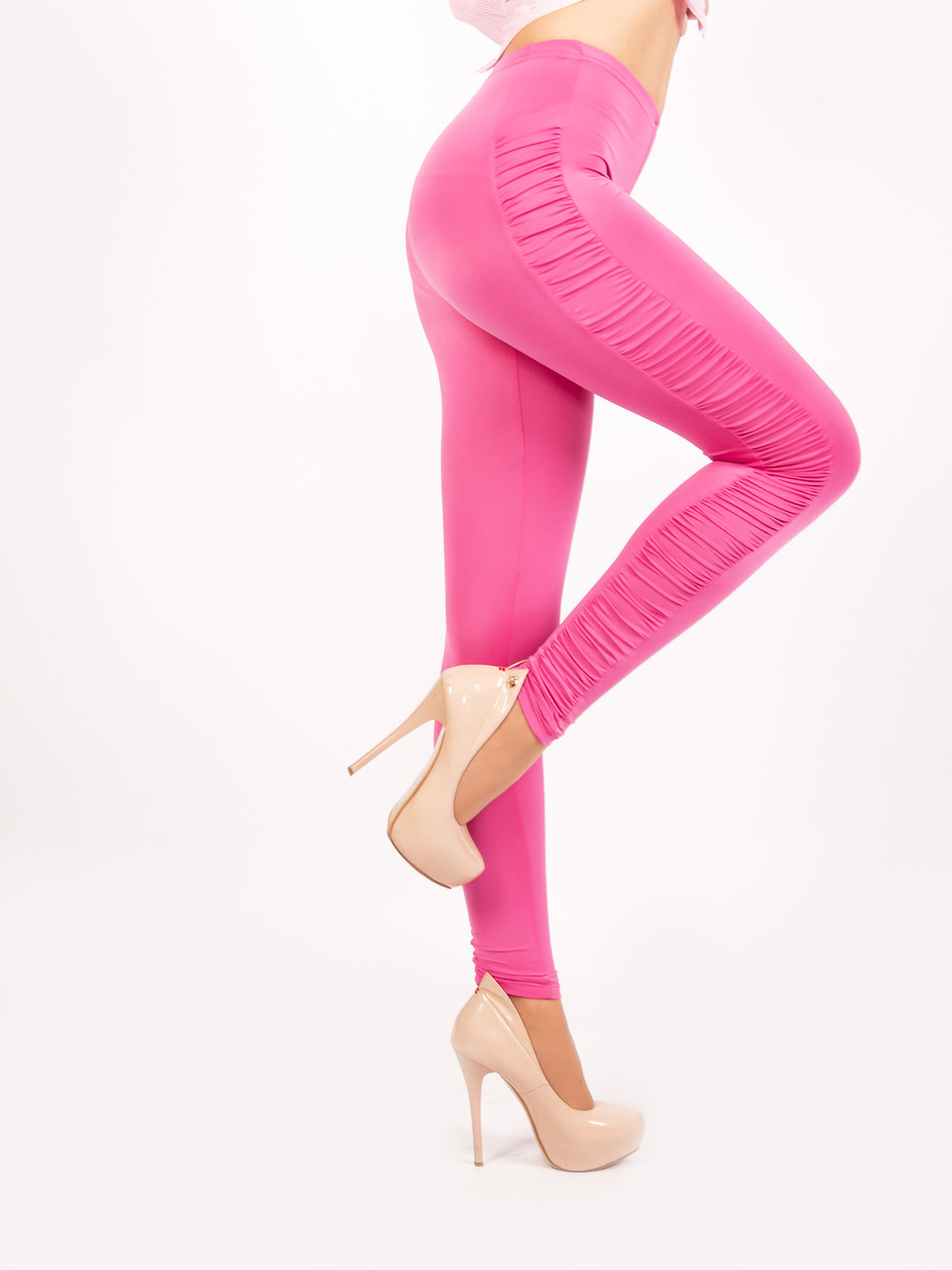 """Лосини """"Glamour"""" № 206 рожеві"""