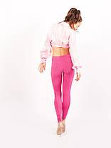 """Лосины БАТАЛ  """"Glamour"""" № 206 розовые, фото 2"""