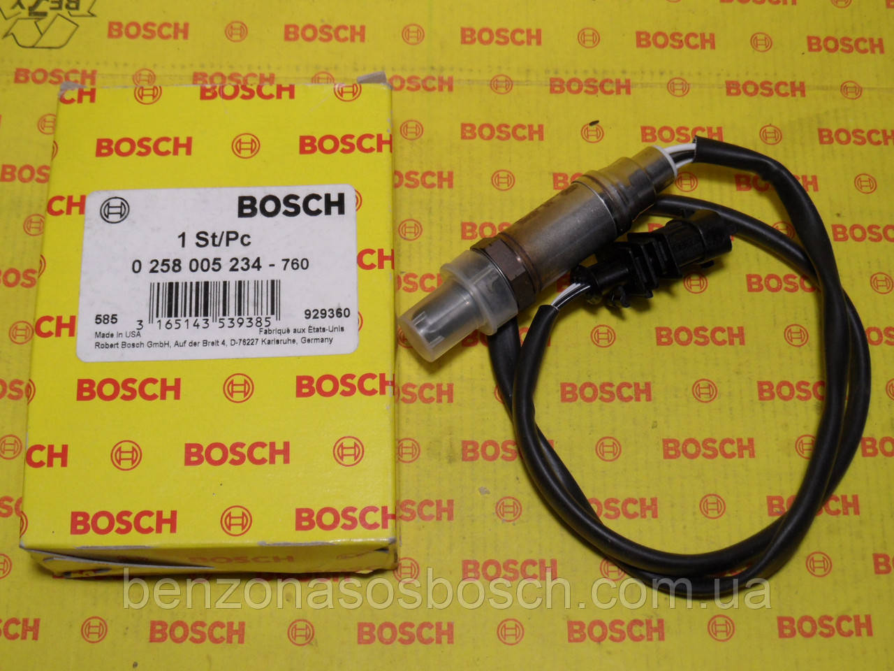 Лямбда-зонд Bosch 0258005234, 0 258 005 234, лямбда-зонд Opel Опель,
