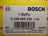 Лямбда-зонд Bosch 0258005234, 0 258 005 234, лямбда-зонд Opel Опель,, фото 2