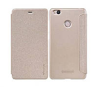 Чехол книжка для Xiaomi Mi 4s Nillkin Sparkle золотой