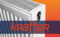 Радиатор стальной с бок. подкл. S22 500х400 Krafter (Чехия)