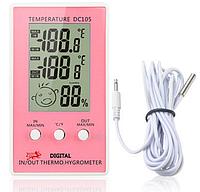 Цифровой термометр -гигрометр для детской комнаты DC-105