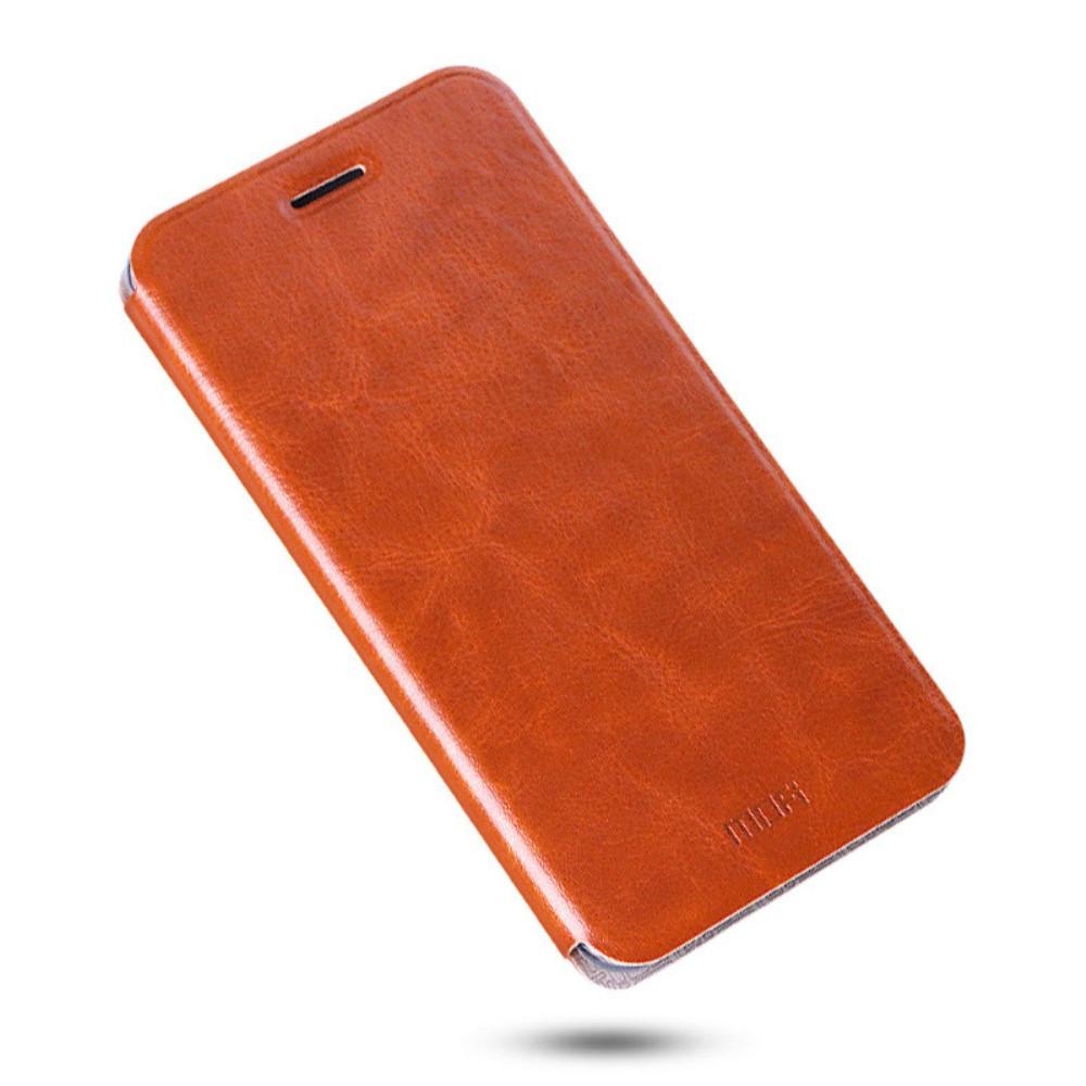 Чехол книжка MOFI Rui Series для Huawei Honor Note 8 коричневый