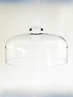 Колпак 310*180 мм стеклянный низкий Бережаны 19227