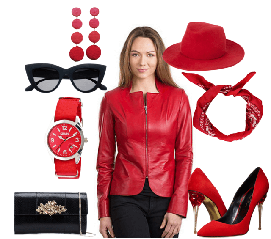 Женские аксессуары и сумки (очки, часы, шарфы)