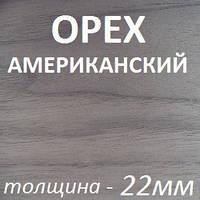 ДСП шпонированное 2800х2070х22мм - Орех Американский (1 сторона), фото 1