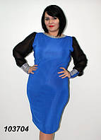 """Платье женское вечернее батал Грация"""", миди, разные цвета, размеры от 48 до 56. Розница, опт в Украине."""