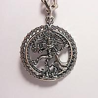 Серебряная подвеска Шива Натараджа