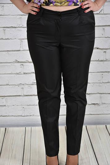 Женские брюки больших размеров 017 черные