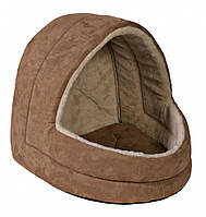 Домик Trixie Felicia Cave плюшевый, коричневый, 35х35х40 см