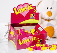 Жевательная резинка Love is... со вкусом вишни и лимона