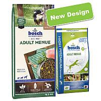 сухий корм для собак BOSCH Adult menue 15 кг