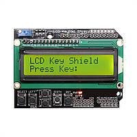Модуль LCD 1602 с клавиатурой Arduino Shield