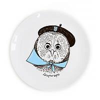 "Сувенирная тарелка ""Сова"""