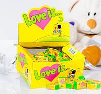 Жевательная резинка Love is... со вкусом кокоса и ананаса
