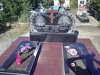"""Памятник из гранита """"Стелла на двоих"""""""