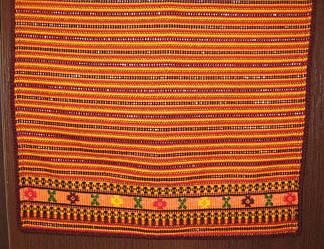 Плахта жіноча (помаранчева)