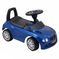 Машинка-каталка Alexis-Babymix Z-326P Bentley (blue) матовая краска