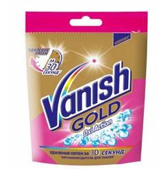 Жидкое средство для выведения пятен с тканей VANISH Oxi Action GOLD, сашетка 100 мл