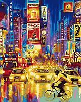 Новые сюжеты картин по номерам. Огни большого города