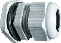 Кабельный зажим e.pgl.stand.42 удлиненной резьбой и уплотнителем(цвет серый)