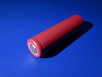 Высокотоковый аккумулятор 18650 Sanyo UR18650QW2 M30A 3,6V 1500mA 15А!  розов.