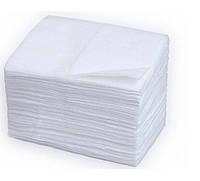 Салфетки одноразовые 100шт упаковка 25х20см
