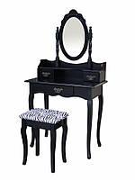 Туалетный столик черный с зеркалом. Без предоплаты!