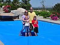 Просчет и подбор зимнего накрытия для бассейнов
