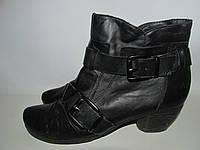 TAMARIS _утепленные ботинки -Кожа _27 см К33