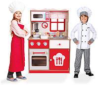 Деревянная кухня для детей Ecotoys