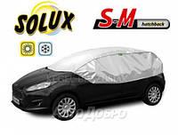 "Чехол-тент для автомобиля ""SOLUX"" размер SM Hatchback"