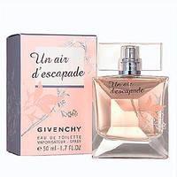 Женская туалетная вода Un Air d'Escapade Givenchy нежный, беззаботный, вкусный цветочный аромат AAT