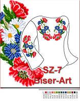 Заготовка для вишивки жіночої сорочки CZ-7 на габардині