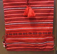 Спідниця дитяча (червоно-чорна)