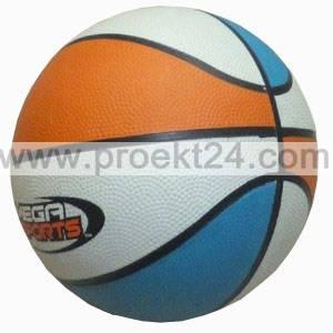 Мяч баскетбольный, резиновый, вес 500г
