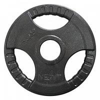 Диск стальной олимпийский NEWT 10 кг