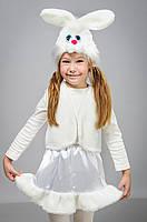 Детский карнавальный костюм для девочки Зайчик