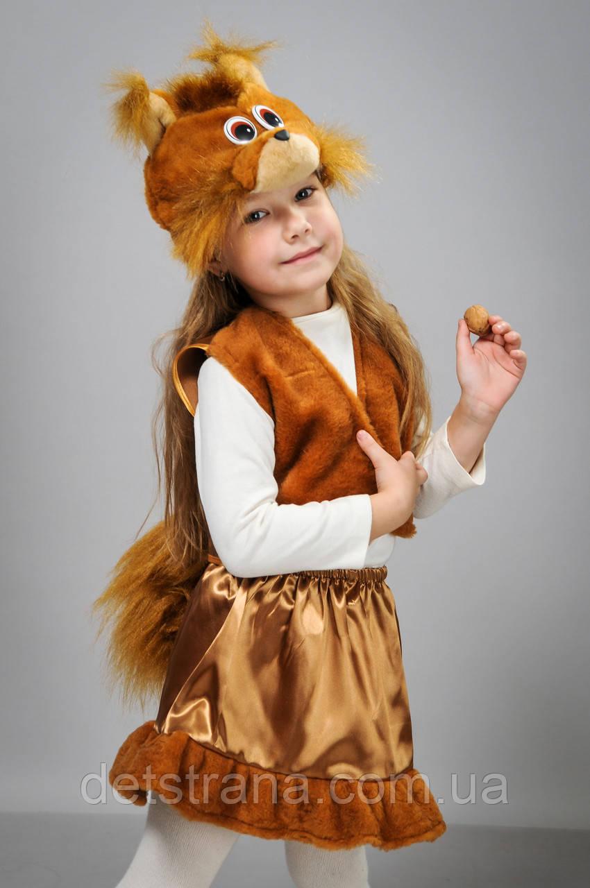Карнавальный костюм детский Белочка