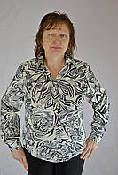 "Женская блуза  с атласом мод. "" Блуза из атласа"""